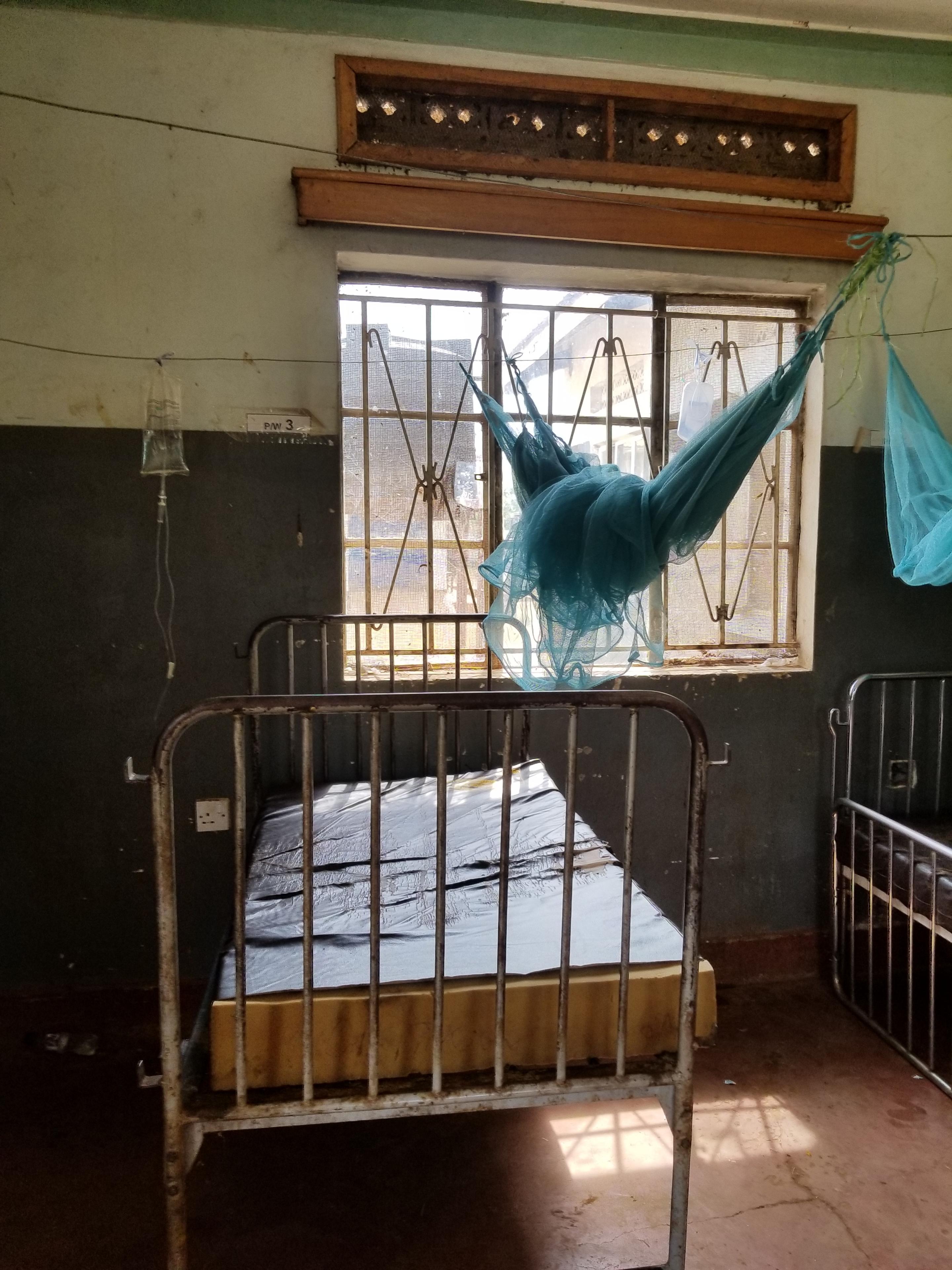 ウガンダの病室